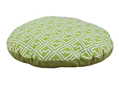 "Shakes Artistic Green  36"" Round Pet Bed"