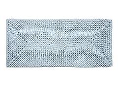 Chenille Oversized Cotton Bath Rug