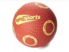 OGLO Red/Yellow Grip Ball