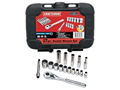 "17-Piece 1/4"" Drive Socket Wrench Set"