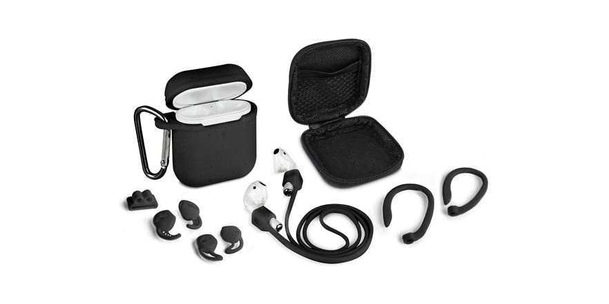 Aduro 8 Piece Accessory Kit for AirPods (Your Choice Color)   WOOT