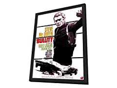 Bullitt Framed Movie Poster