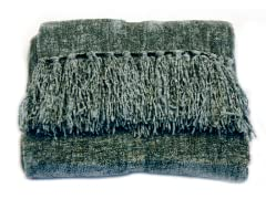 Susan Chenille Throw - Denim