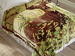 Hi Pile Luxury Oversized Coverlet
