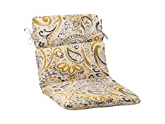 Outdoor Cushion-Paisley-Gold-6 Sizes
