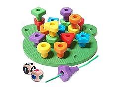 Peg Board Stacking Toddler Toys