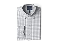 BUTTONED DOWN Men's Slim Fit Button..