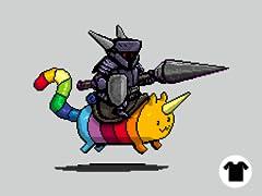 Rainbow Cat and the Dark Knight