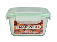 Snap & Seal 15oz. Square Container
