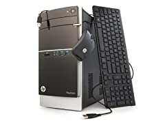 HP Quad-Core Desktop with 1.5TB HD