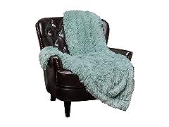 Chanasya Soft Longfur Throw Blanket