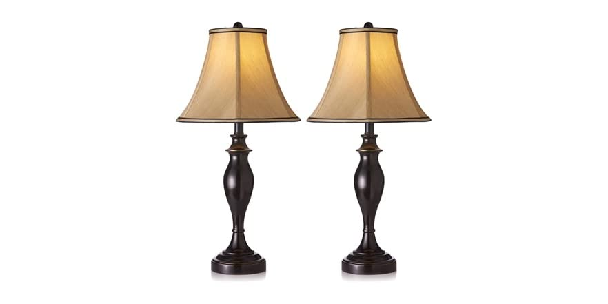 newport lighting 3pc lamp set 2 styles