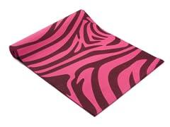 Fitness Basics Pink Zebra Yoga Mat