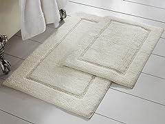 Amrapur Overseas 2-Pack Bath Mat Set