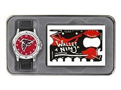 NFL Watch & Wallet Ninja Gift Set