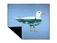 """Beachy Bird"" Camp Blanket"