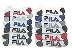 FILA Men's Performance Socks 12-Pairs