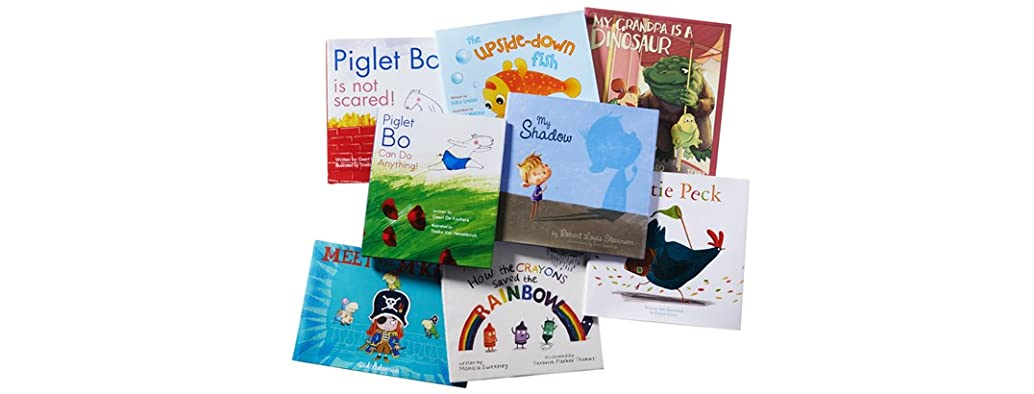 Skyhorse Publishing 8pc Kids Hardcover Books