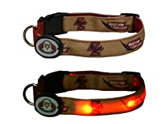 "Dog-E-Glow  Boston College ""Eagles"" Collar"