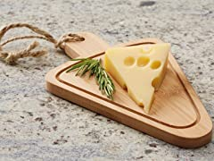 Bamboo Cheese Board Set of 4