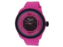 Ten Beats 3H Pink/ Black Watch