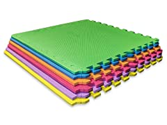 Multi-Color Interlocking Mats 6-Pack