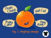 Rhyming Orange