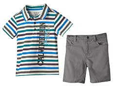 2 Pc Short Set (3T)
