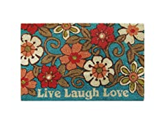 LIVE LAUGH LOVE OUTDOOR MAT