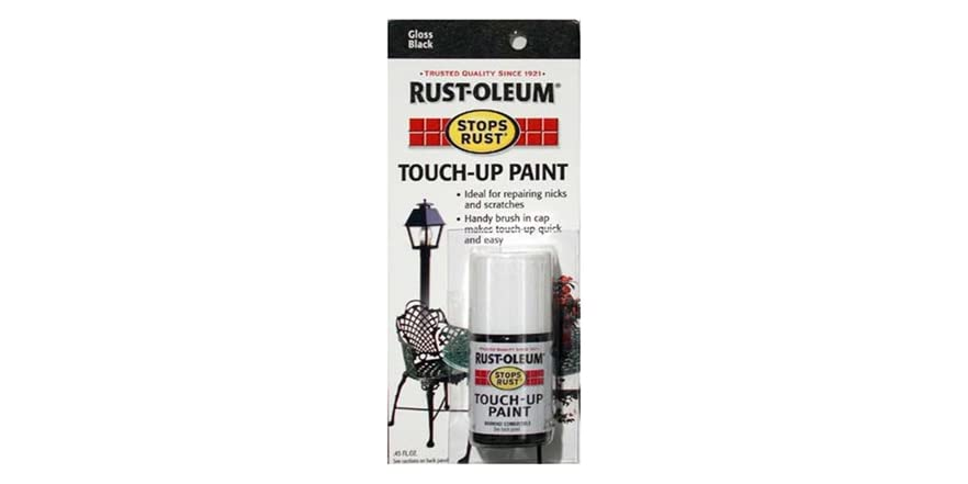 touch up paint rust oleum stops rust touch up paint 0 45 oz 28625