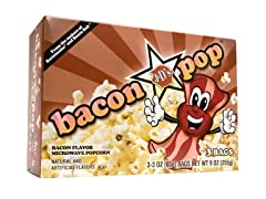 J&D's Foods BaconPOP microwave popcorn