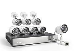 Funlux 8CH/8Cam IP Network Camera Sys w/ 1TB HDD