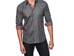 Jared Lang Dress Shirt, Charcoal