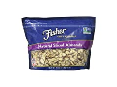 Fisher Chef's Naturals Sliced Almonds