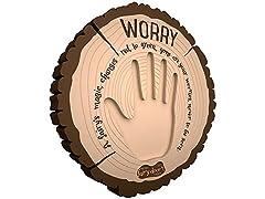 Interactive Worry Plaque