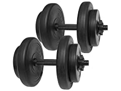 BalanceFrom All-Purpose Weight Set 40Lbs