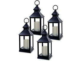 Banberry Decorative Lantern - Set of 4