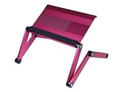 Adj Laptop Desk/Portable Bed Tray - Pink