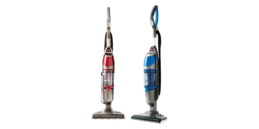 Bissell symphony vac steam mop for Steam mop 17 in 1
