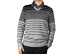 Travis Mathew Lompoc Sweater - Grey