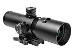 VISM 4x50 CBT Laser Prismatic Scope