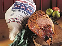 Virginia Wigwam Whole Hickory Smoked Ham Leg