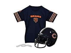 Franklin Sports NFL Chicago Bears Replica Youth Helmet and Jersey Set