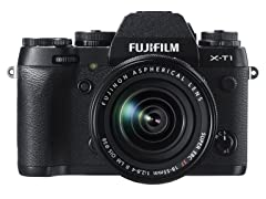 Fujifilm X-T1 16 MP 3.0 LCD Camera w/18-55 Lens