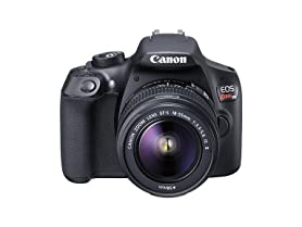 Canon Rebel T6 DSLR Camera with 18-55mm Lens