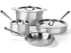 All-Clad Master Chef 2 Tri-Ply 7-Pc Set