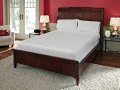 "10"" Quilted-Top Memory Foam Mattress - King"