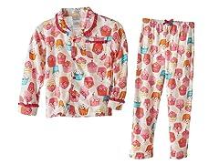 Absorba 2 Piece PJ's - Cupcake