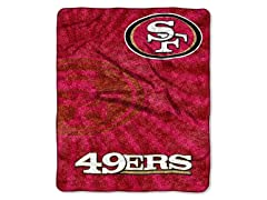 Northwest NFL Sherpa Throw San Francisco 49ers