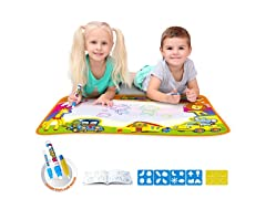 Large Water Drawing Mat for Kids